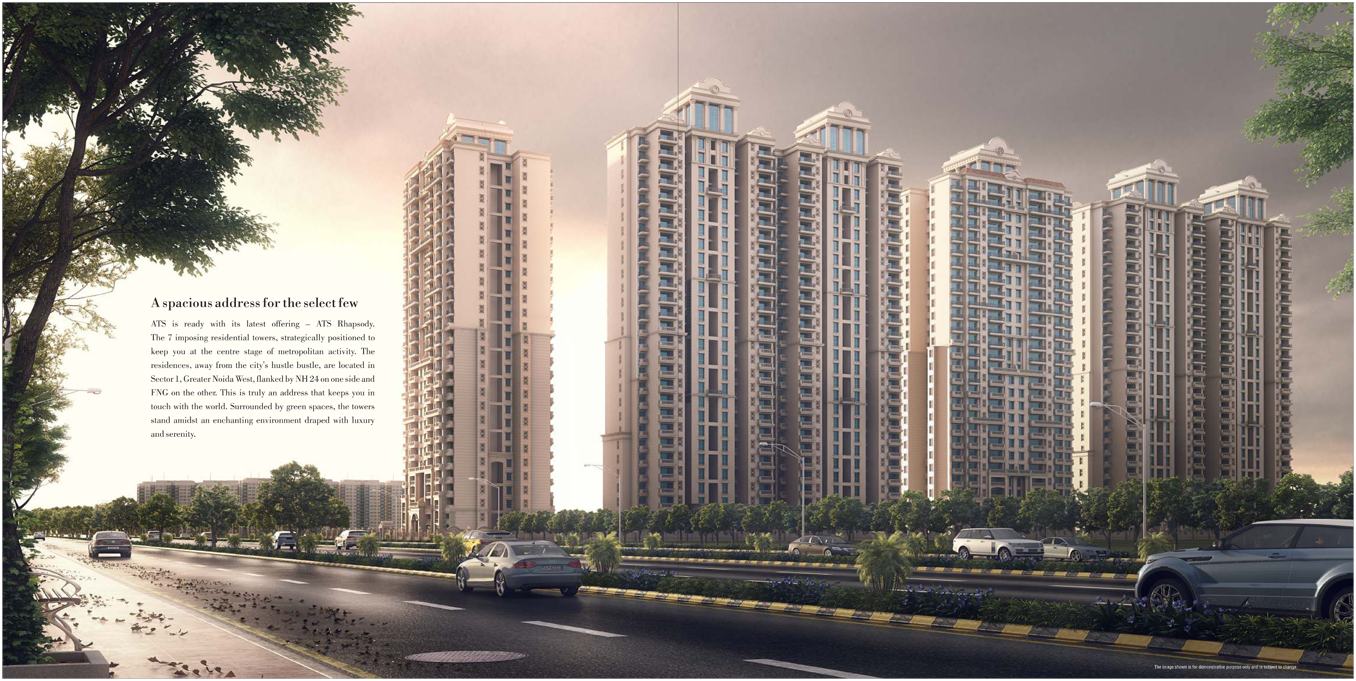 /3 BHK Flats in Noida Extension