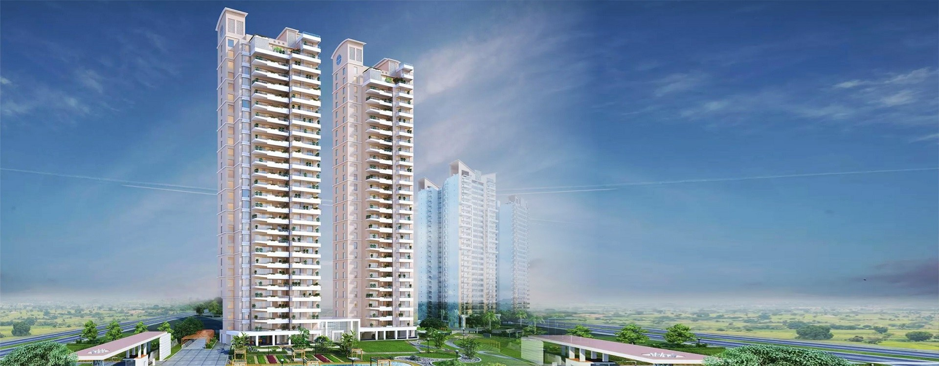 /4 BHK Flats in Noida -Gaur Platinum Towers