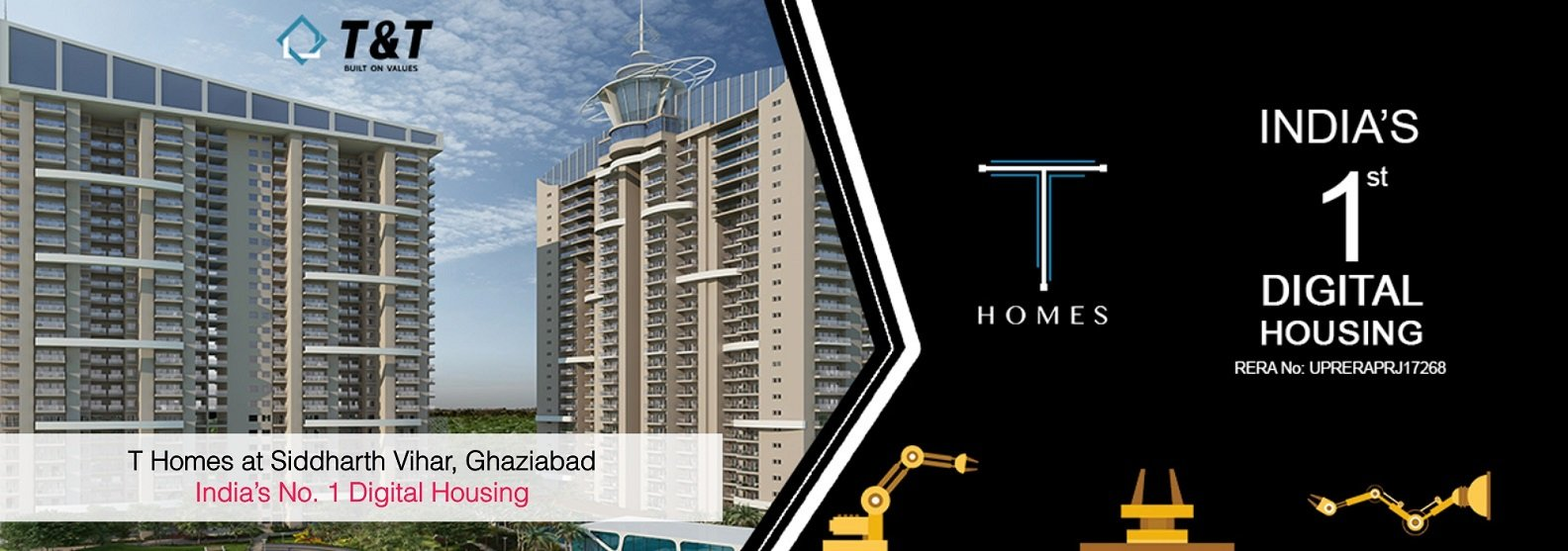/3 BHK Flats in Ghaziabad- T Homes